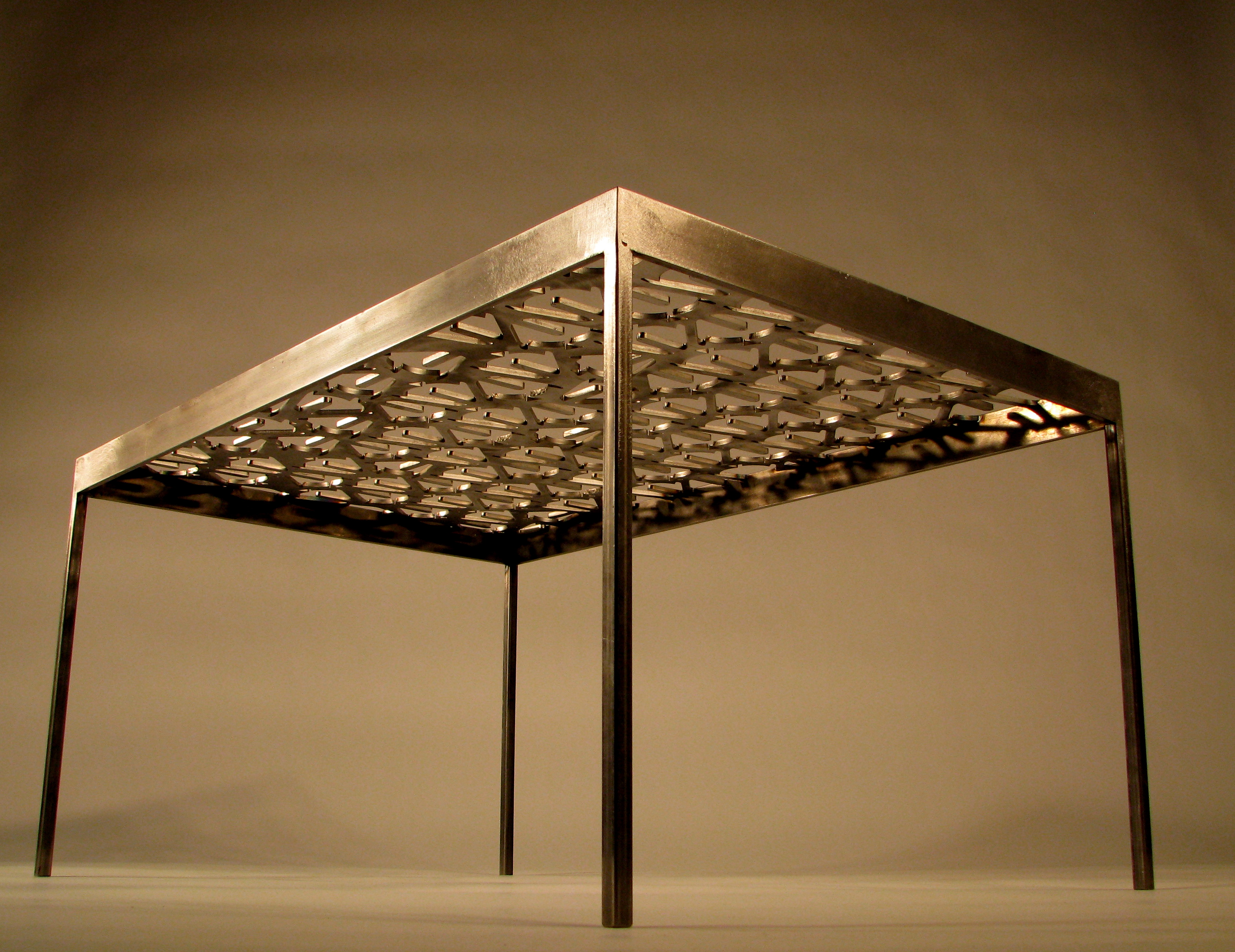 Coffee table archives tmrnyc total metal resource inc for Material design table