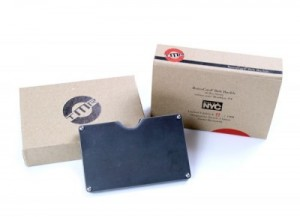 RetroCard Belt Buckle Packaging