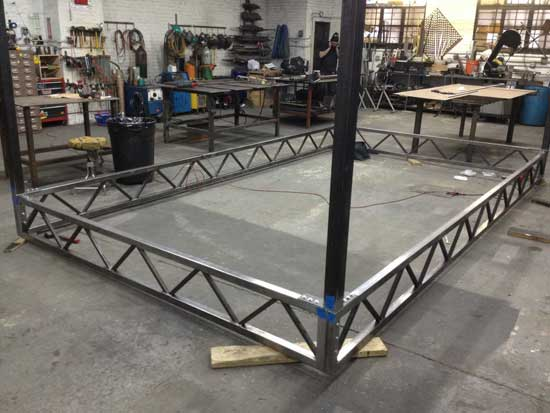 Pura Vida Custom Metal Truss