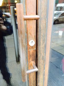 Custom door handle